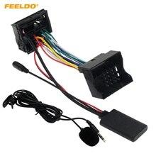FEELDO Xe Module Bluetooth AUX Âm Thanh MP3 Nhạc Adapter Dành Cho Fiesta Mondeo MK3 Tập Trung MK2 Stereo Dây với Micphone