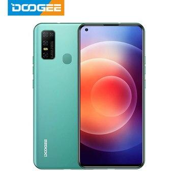 Перейти на Алиэкспресс и купить DOOGEE N30 полный нетком 6,55 дюймдюйма с четырехъядерным процессором Камера 128 ГБ Встроенная память Octa Core глобальная версия мобильного телефона 4500mAh ...