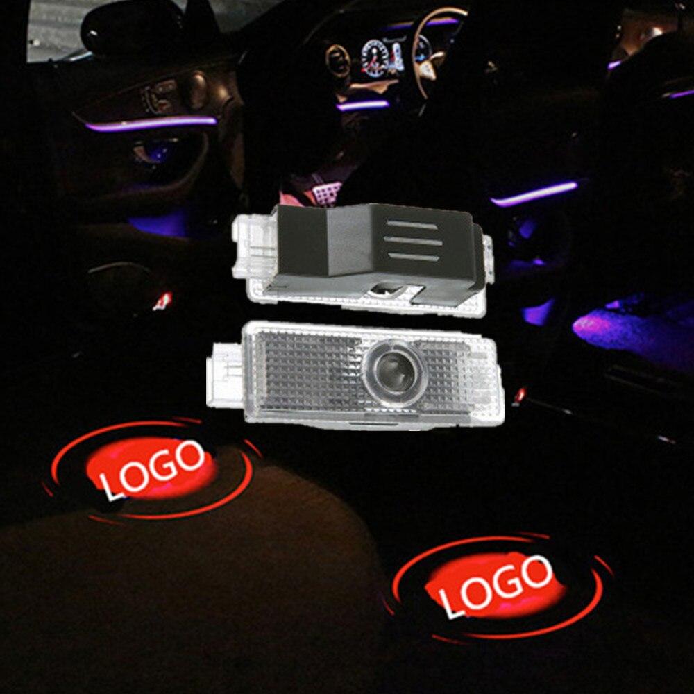 2X RGB LED Door Courtesy Light BMW E90 E91 E92 E93 E60 E61 F10 F11 F18 E63 E64
