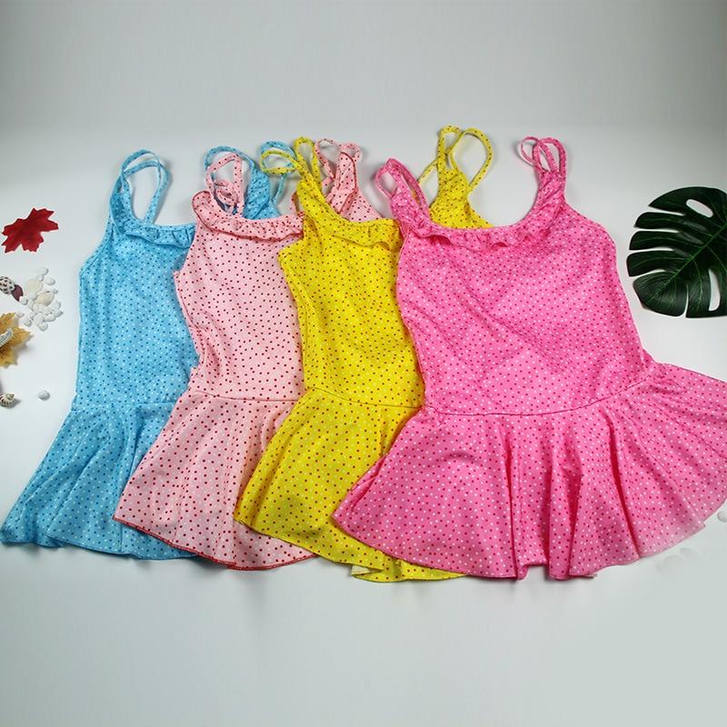KID'S Swimwear Girls Small CHILDREN'S Swimwear Camisole Sexy Cute GIRL'S One-piece Swimming Suit Manufacturers Wholesale