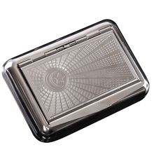 New 1pcs Tobacco Box Humidor Cigarette Case Silver Storage For Herb/Weed/Tobacco Cigarette Rolling With Retal Pack