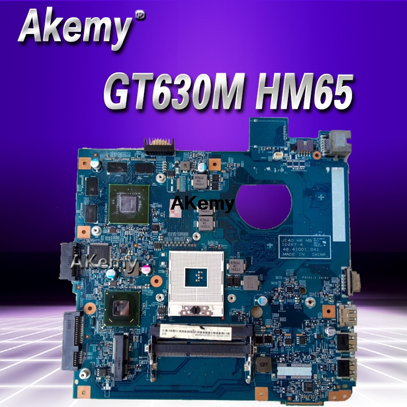 For Acer Aspire 4750 4750g 4752 4752g 4755 4755g Laptop Motherboard GT630M Graphic 48.4IQ01.031 MBBRT01003 PGA989