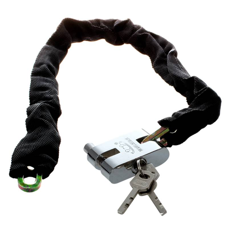 132cm Reinforced Metal Heavy Motorbike Motorcycle Bicycle Chain Lock