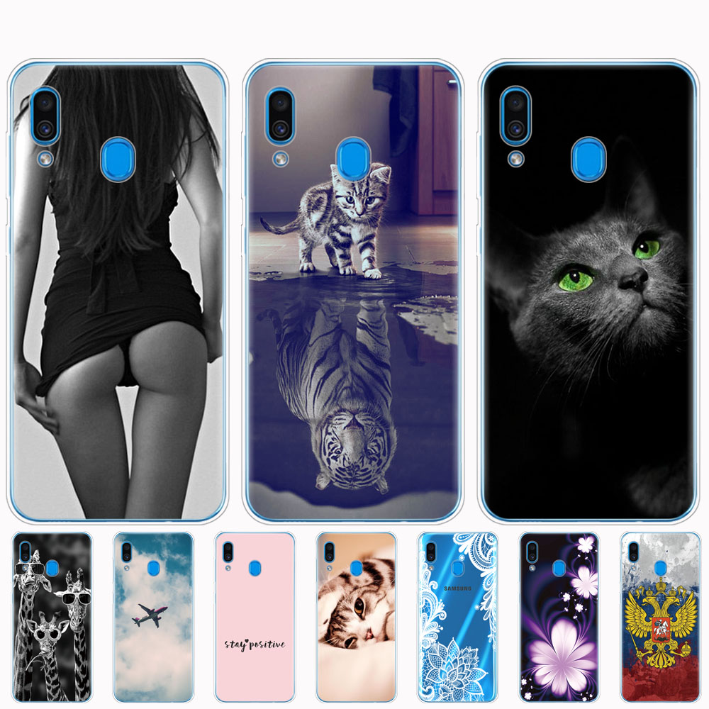 Case For <font><b>Samsung</b></font> <font><b>Galaxy</b></font> <font><b>A20</b></font> Case <font><b>Galaxy</b></font> <font><b>A20</b></font> Case Silicone Bumper For <font><b>Samsung</b></font> <font><b>A20</b></font> A 20 2019 A205F A205 SM-A205F Cover Soft Fundas image