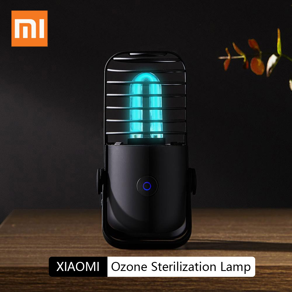 Presale Xiaomi Xiaoda UVC Germicidal Ozone Sterilization Lamp Ultraviolet Rays Kill Bacterial Virus Disinfect Bacterial Lights