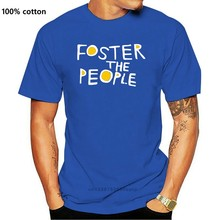 Foster The People American Indie Pop Band T-shirt Cotton 100% USA Size