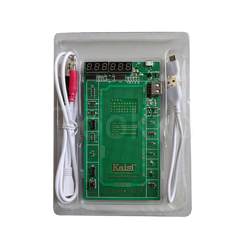 Latest K-9208 Battery Activation Charge Board For iPad/iPhone/Huawei/OPPO Android Phone  Intelligent Quick Charging Tester