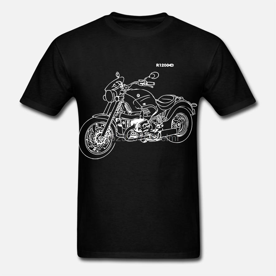 Mode R1200C T-Shirt mit der Grafik R 1200C Motorcycyle Rally R 1200 C Motorrad- Fahrer T hemd