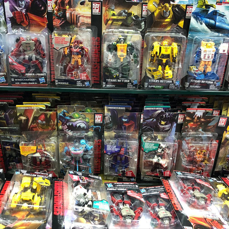 Hasbro IDW Commander-level G Series Hornet Hinterland Big Wave Shock Wave Dahan Hot Breaking Black Jack Bomb Recoil Toy