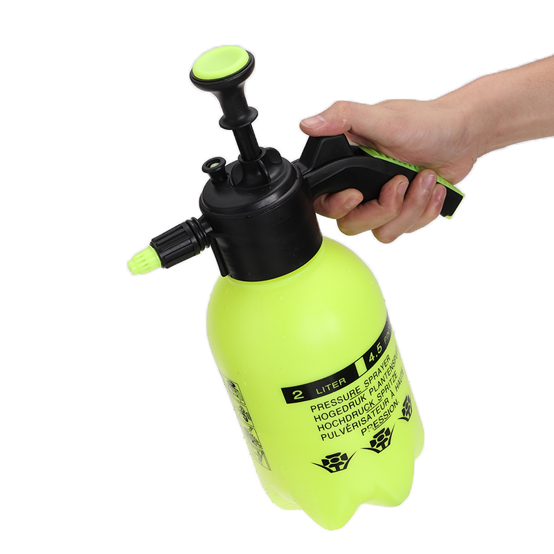 2L HEAVY DUTY PORTABLE SPRAYER MANUAL PRESSURE PUMP HAND HELD GARDEN WEED WATER