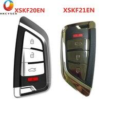 Xhorse 4 Button VVDI Universal Knife Style Smart Car Key for VVDI2 VVDI KEY TOOL MAX and VVDI MINI KEY TOOL XSKF20EN XSKF21EN