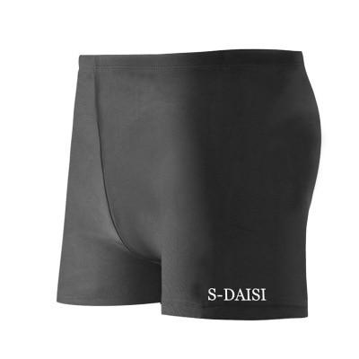 Men AussieBum-Style Quick-Dry Comfortable Men's Swimsuit Plus-sized Loose Bubble Hot Spring Swimming Trunks