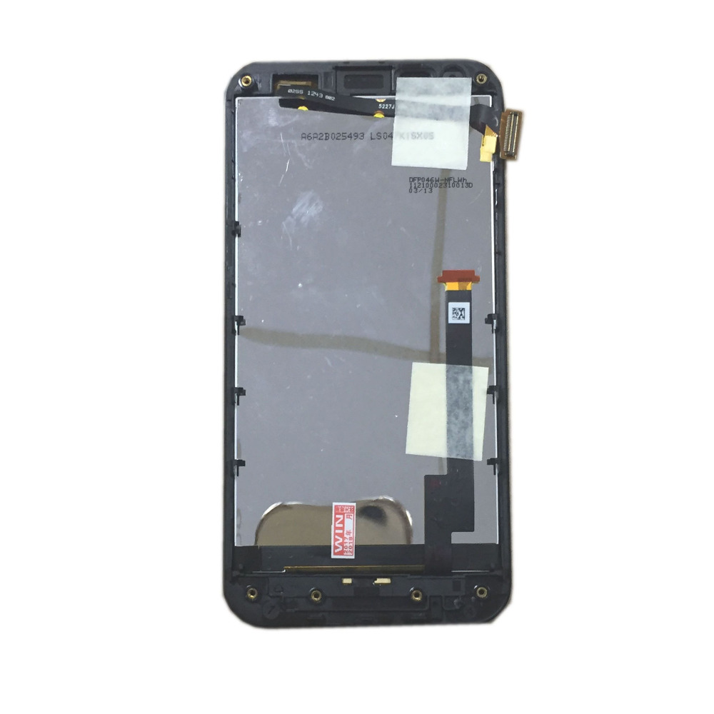 For Asus Padfone 2 II A68 A68M BLACK 5227J FPC-2 Rev:3 LCD Display Touch Screen Digitizer Assembly Glass Replacement With Frame