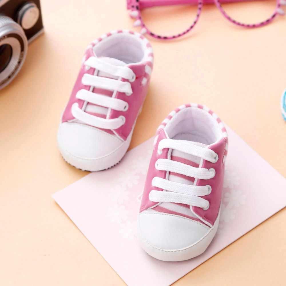 ARLONEET tuval bebek kız ayakkabı bebek pamuklu kumaş ilk yürüyüşe yumuşak taban ayakkabı kız erkek ayakkabı 4 renkler dropship 1126