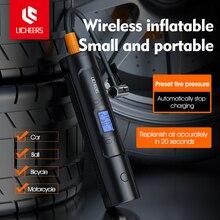 Licheers şarj edilebilir hava pompası lastik şişirme akülü 12V 150PSI taşınabilir kompresör dijital araba lastik pompası araba bisiklet için topları