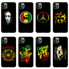 Bob Marley Reggae Phone Case Soft Cover Black for Iphone SE2020 11 Pro Max 6 7 8plus 5 X XS XR Xsmax and Samsung S10 S9 Series muhammad ali phone case boxing king black soft cover for iphone 11 pro max 6 7 8plus 5s x xs xr xsmax for samsung s10 series