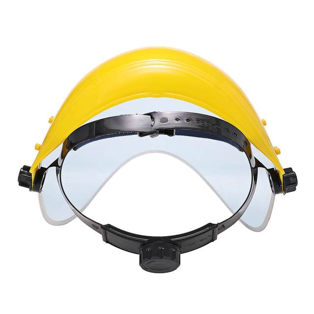 Protective MaskTransparent PVC Anti-Saliva Dustproof Faces Shields Screen Spare Visors  Face Mask Respiratory tract Protection 3