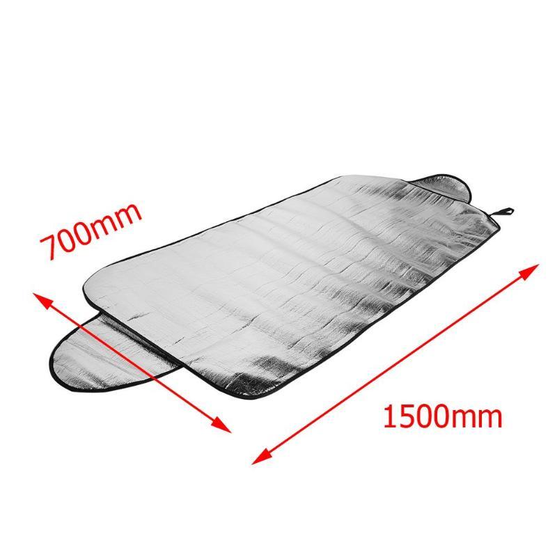 59x28 дюймов ветровое стекло солнцезащитные очки тонкий дизайн зимнее прочное лобовое стекло автомобиля снежное покрытие ледяной Мороз щит Защита от солнца