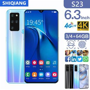 SOYES S23 Mobile Phones 4G LTE 3/4GB 64GB Face ID 6.3 inch FHD+ Display 13MP Global Version Android 9.1 Smartphones 4800 mAh