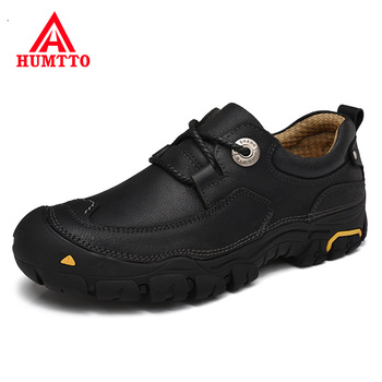 Winter Cow Leather Mens Fashion Shoes Outdoor Lace-up Warm Men Shoes Hot Sale Luxury Brand Massage Adult Man Work Safety Shoes
