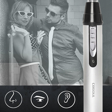 Epilators Trimmer Clipper Shaver Razor Electric-Removal Nose Rechargeable Eco-Friendly
