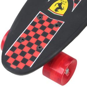 Image 4 - 子 4 輪ダブルクルーザースケートボードフリップスケートボード子供のための少年最大積載 50 キロ