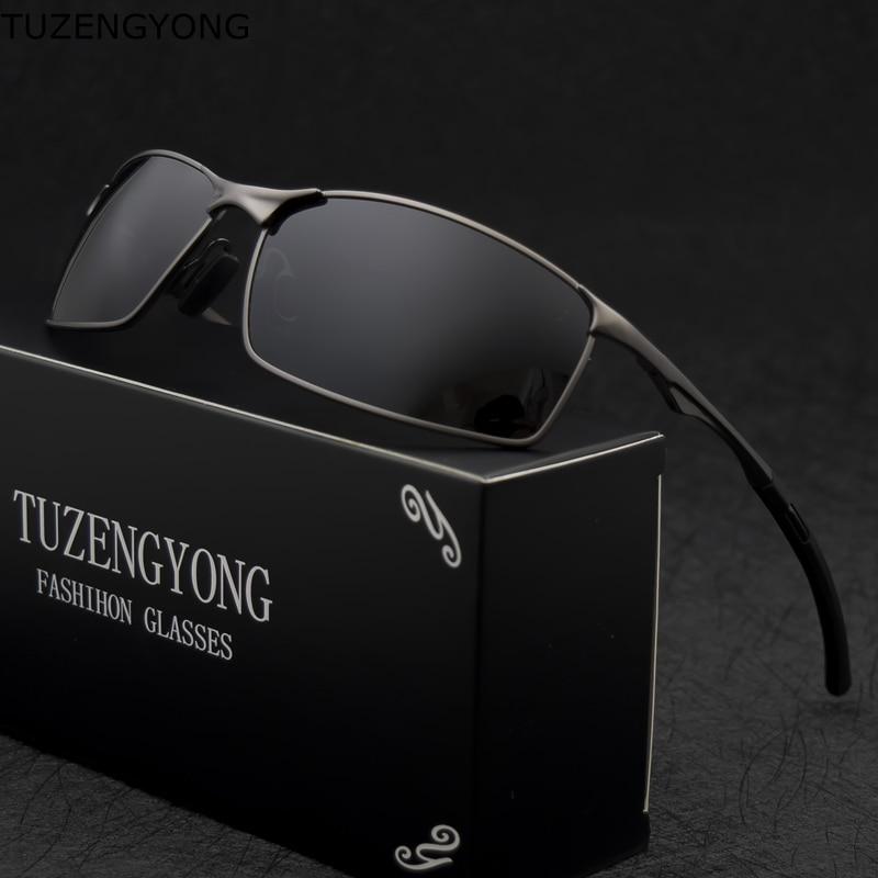 2021 marke Polarisierte Sonnenbrille Männer Neue Mode Augen Schützen Sonnenbrille Mit Zubehör Männlichen Schutzbrillen Oculos De Sol