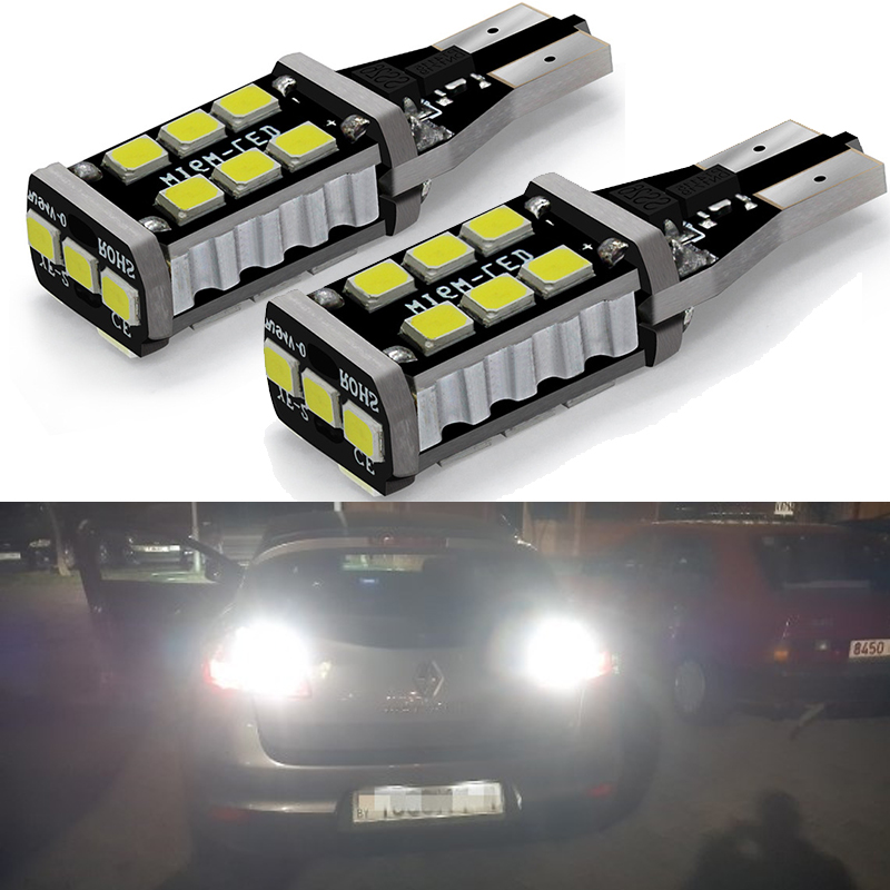 2pcs <font><b>LED</b></font> T15 W16W Canbus Car Reverse Backup Light For <font><b>Renault</b></font> Duster <font><b>Megane</b></font> <font><b>2</b></font> 3 Logan Clio 4 Captur Scenic Turn Signal <font><b>Lamp</b></font> <font><b>LED</b></font> image