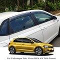 QCBXYYXH автомобильный Стайлинг тенты укрытия окна Козырьки дождь бровей для Volkswagen POLO MK6 AW 2018-Н. В. Внешние аксессуары
