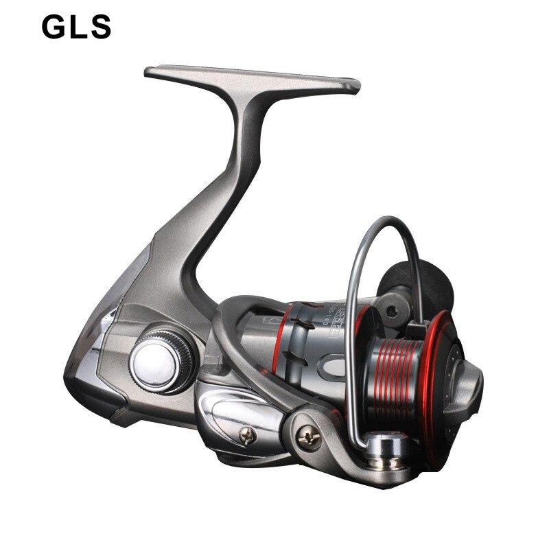 GLS marka tam metal balıkçılık reel 1000-7000 serisi 12BB yüksek hassasiyetli çıkrık makarası balıkçılık reel