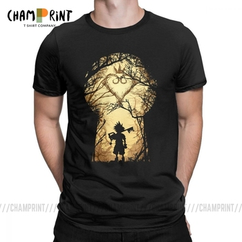 Kingdoms Heart Novelty T Shirt Men My Kingdom Sora Keys Short Sleeve Clothes Gift Tee Pure Cotton O Neck T-Shirt - discount item  40% OFF Tops & Tees
