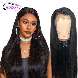 Pelucas de cabello humano con encaje Frontal recto de arándano, peluca prearrancada 13X4, peluca con malla Frontal, peluca Frontal de encaje 360, pelucas Remy brasileñas