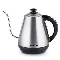 1L Gooseneck Kettle Electric Kettle Adjustable Temperature Insulation Stainless Steel Drip Coffee Maker Tea Teapot 220V