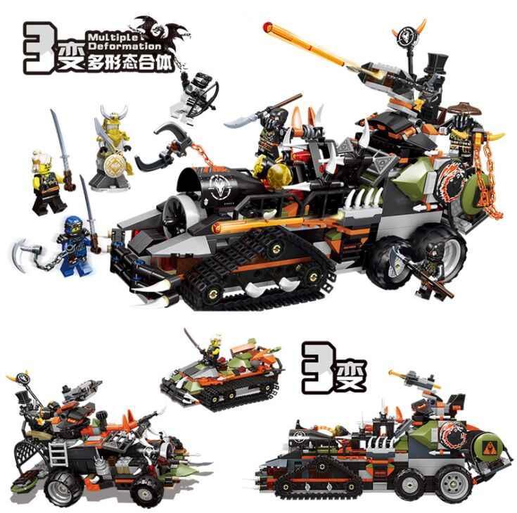 2019 legoinglys ninjagoed pesado caçado dragão caminhão modelo blocos de construção tijolos brinquedos educativos para crianças presentes natal