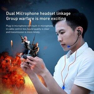 Image 2 - Baseus Wired אוזניות 3.5mm סוג C עבור Huawei Xiaomi סמסונג מיוחד משחקי סראונד סטריאו עם מיקרופון אוזניות