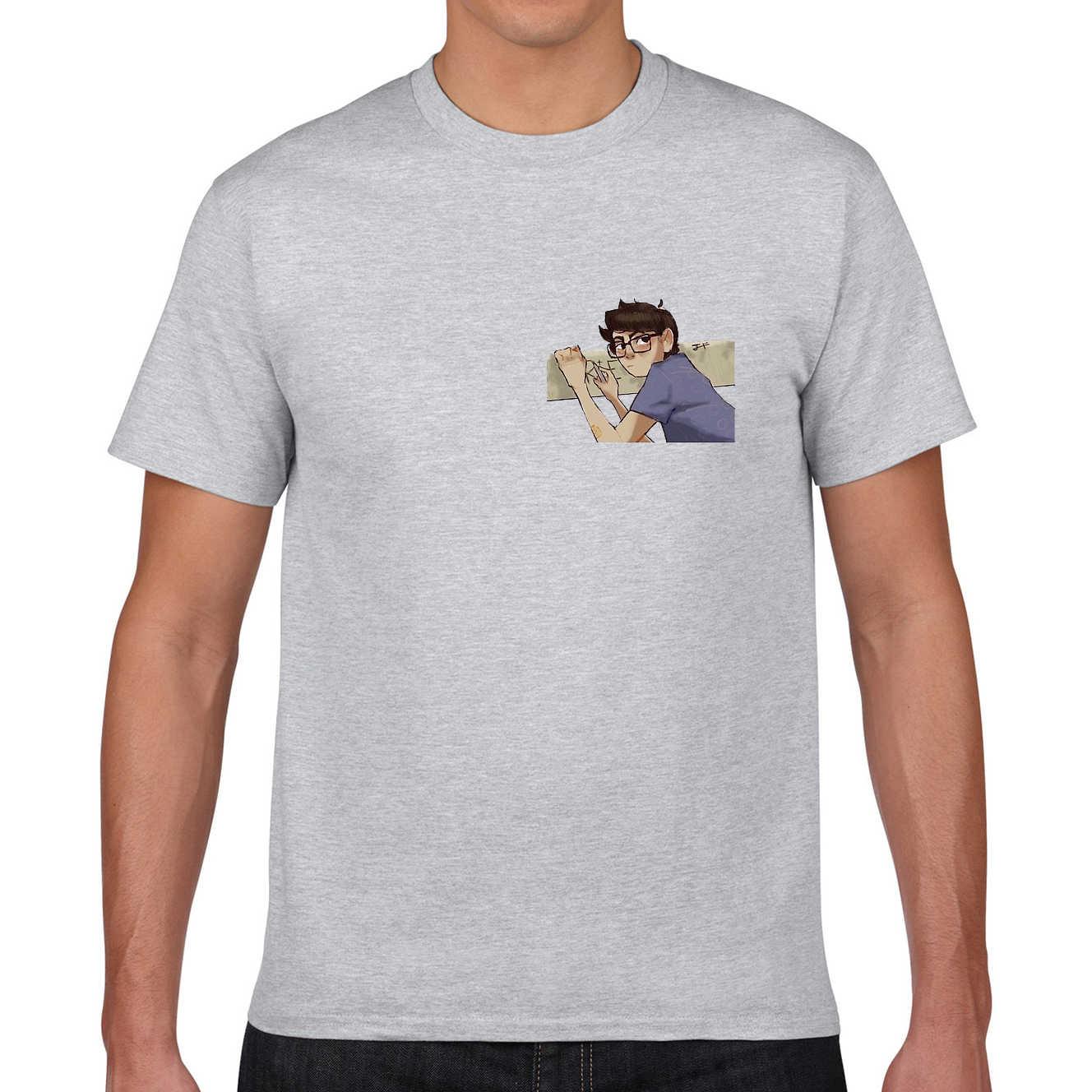 Mens 100% Cotton T Shirt Richie Tozier Merch Stranger Things R + E 그래픽 클래식 T 셔츠 유니섹스 남성용 여성용 팬 티셔츠