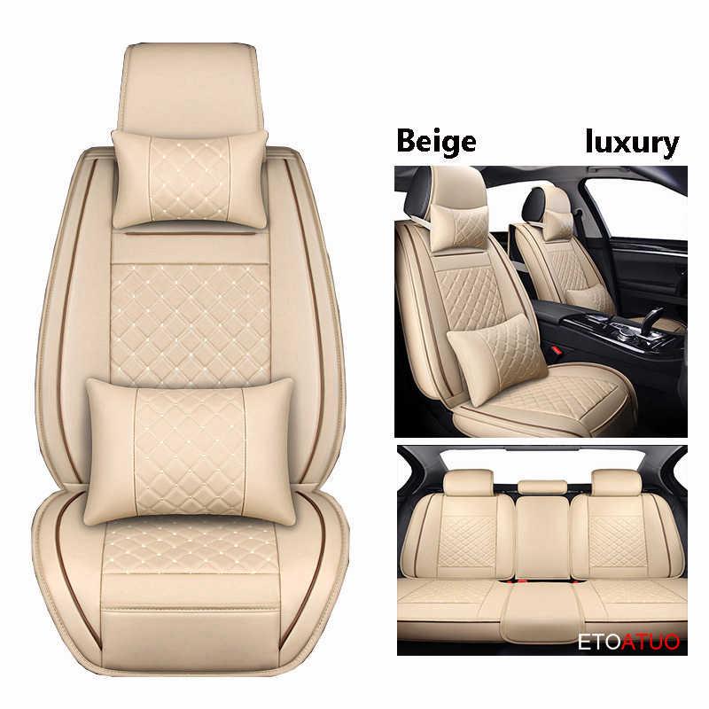 (Передние и задние) Специальные кожаные чехлы на сиденья автомобиля для Skoda Octavia Fabia Superb Rapid Yeti Spaceback joyte Jeti, автомобильные аксессуары