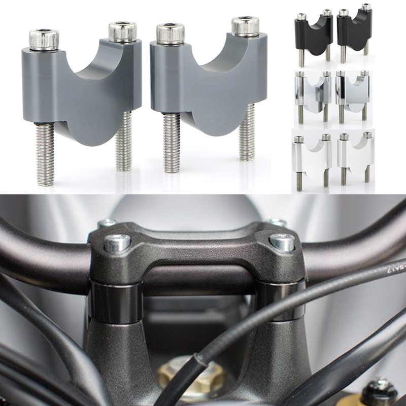 30mm Height for Suzuki DR-Z 400SM 2005-2009 Handlebar Risers 7//8 Bars