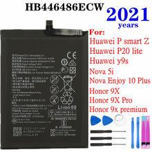 2021 Years HB446486ECW For Huawei Y9s/P smart Z/P20 lite/ Nova 5i/ Enjoy 10 Plus/Honor 9X/Honor 9X Pro/Honor 9X premium Battery