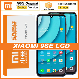 """Image 1 - 100% Original 5.97"""" Amoled Display with frame for XiaoMi Mi 9 SE M1903F2G Touch Screen Digitizer for MI9 SE 9SE Repair Parts"""