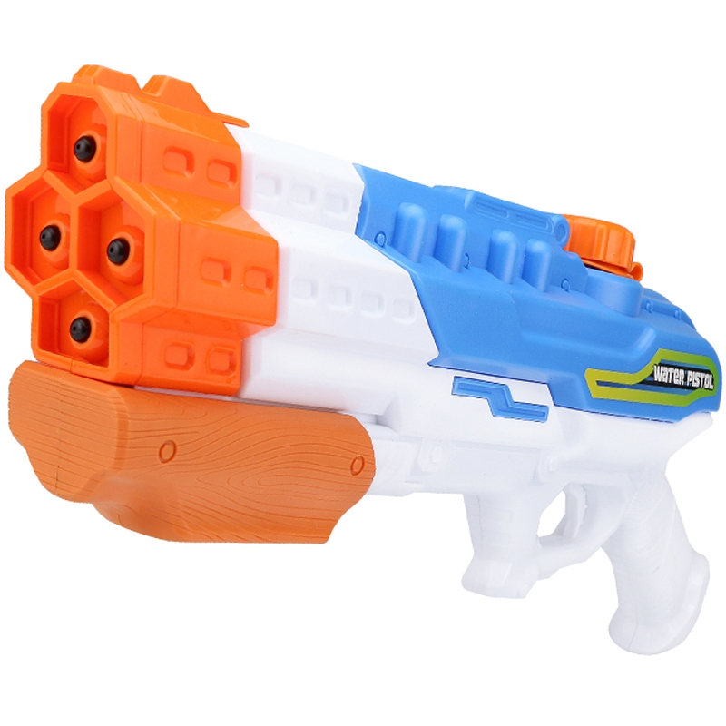 Kids Summer Beach Water Gun Toy Backpack Fireman Water Pistool Pressure Squirt Pool Toy Mini Pistola Agua Gaming Toy EE5SQ