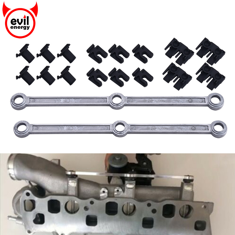 EVIL ENERGY A6420905037 Car Air Intake Inlet Manifold Connecting Rods Repair Kit For Mercedes OM642 V6 3 0 A6420907737