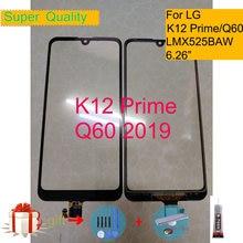 Für LG K12 Prime LMX525BAW X525 Touch Screen Panel Sensor Digitizer Front Glas Outer Objektiv Für LG Q60 Touch Ersatz
