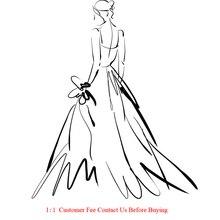 Ссылка на заказ платье для выпускного вечера свадебное платье вечернее платье