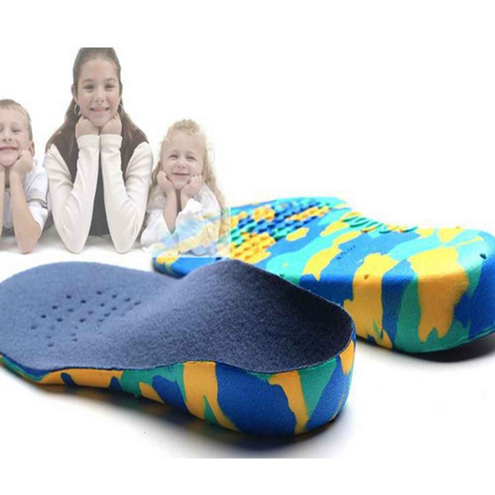 เด็กใหม่แบนฟุต Arch Support Insoles Orthotic Orthopedic รองเท้าแทรก S M L XL XXL Correction Comfort All Season anti Slip