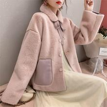 Winter Loose Casual Jacket Coat Solid Women Outerwear Cute Coat All-Mach Thicken