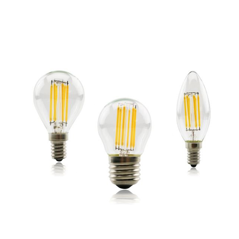 G45 Filament Bulb E27 Led 220v Vintage Edison Led Bulb 4W 8W 12W 16W C35 C35L E14 Candle Light Indoor Light Lamp