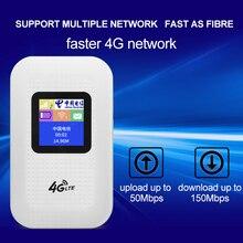 TOLKIEN 4G Wifi роутер мини роутер 3g 4G Lte Беспроводной Портативный Карманный wi fi Мобильная точка доступа автомобильный wi-fi роутер с sim-картой