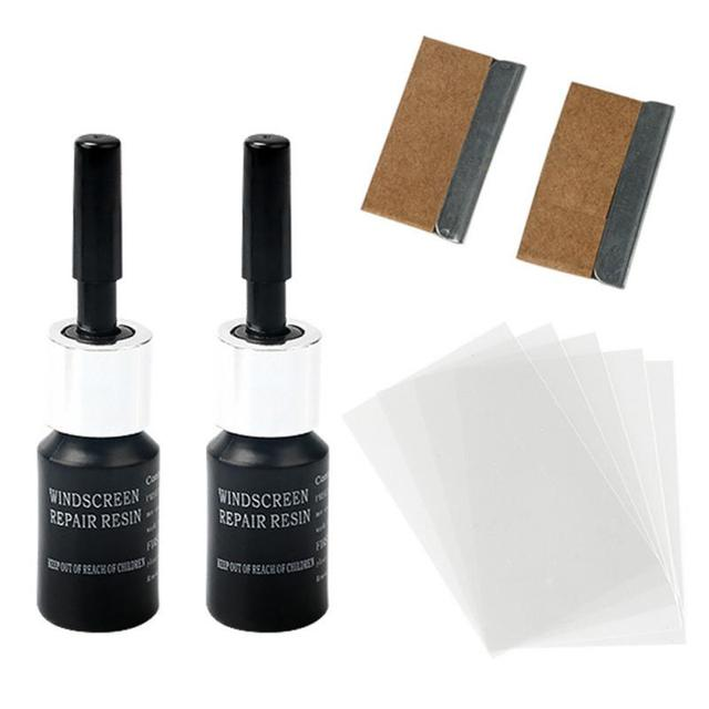 Car Wash Cleaning Agent Cracked Glass Repair Kit Windshield Kits DIY Cars Window Tools Glass Scratch Curing Agent 1