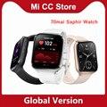 70mai Saphir Uhr 70mai Smartwatches GPS Sport Tracker Heart Rate Monitor 5ATM Wasserdichte 70 mai Smart Uhr APP Anruf Erinnerung
